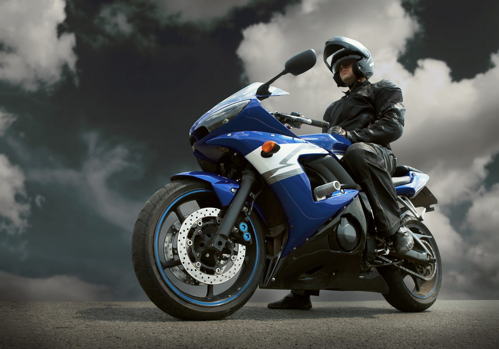Motorcycle helmets can protect