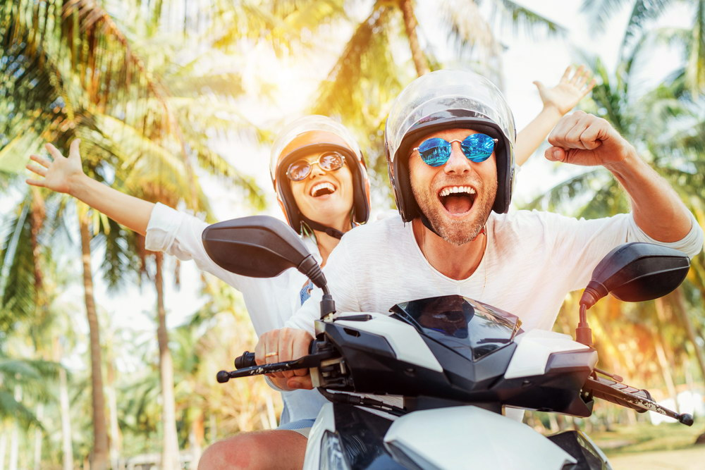 Motorcycles can be good for your health