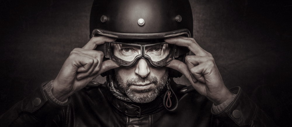 The Anatomy of a Motorcycle Helmet